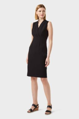 Hobbs Sabrina Shift Dress Black