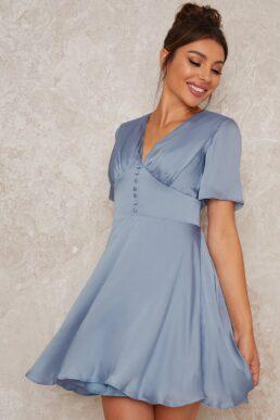 Chi Chi Harlla Dress Light Blue