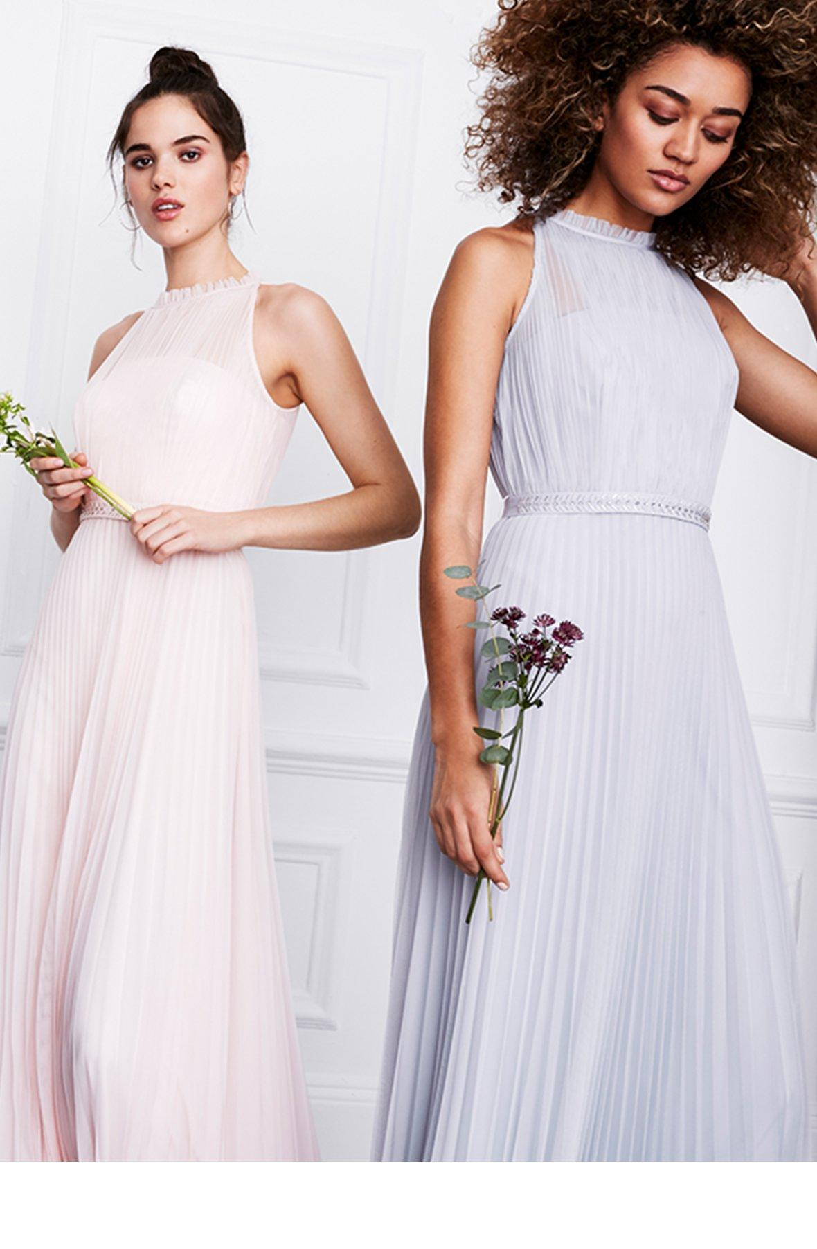 coast bridesmaid dresses and outfits