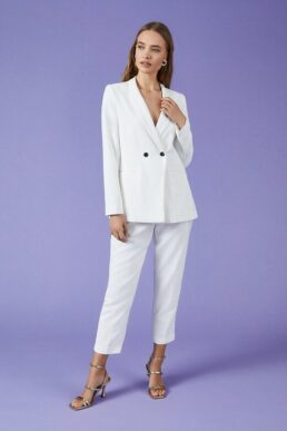 Coast Tux Jacket Cream White