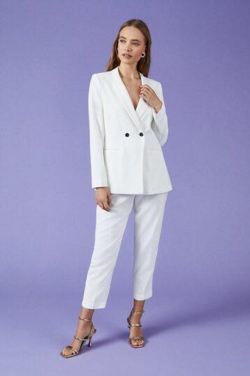 Coast Tux Jacket Cream White