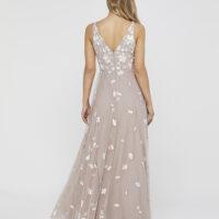 Monsoon Clemence Embroidered Maxi Dress Blush Light Pink