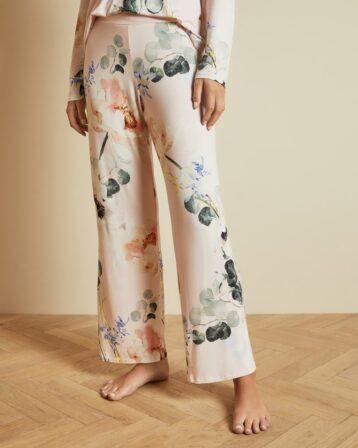 Ted Baker YALIINE Elegant jersey pyjama bottoms Pink Multi