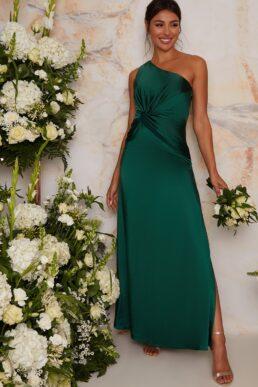 Chi Chi Tegan Maxi Bridesmaid Maxi Dress Green