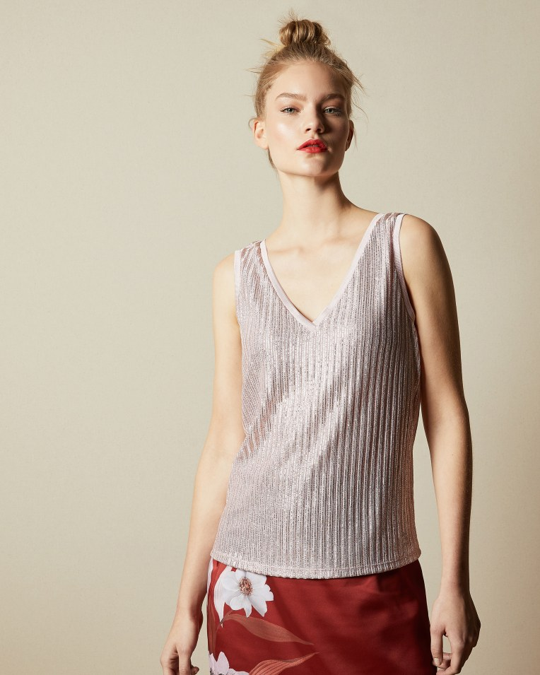 ROBINEE Ribbed vest top £49 £29