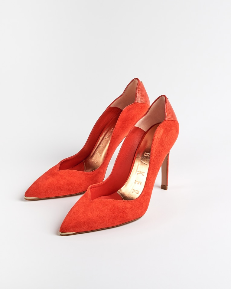 DAYSIIL Scalloped high heel court shoes £125 £87