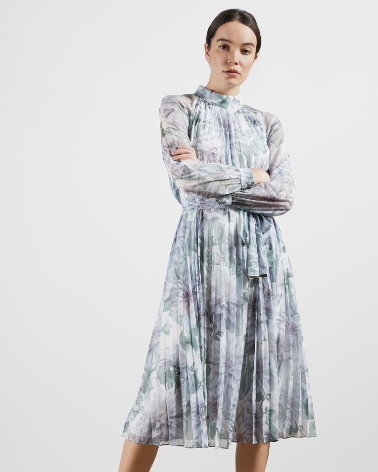LUULUU Clove pleated midi dress £229 £114