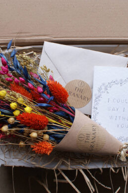 Bright Posy Maid Of Honour Letterbox Gift