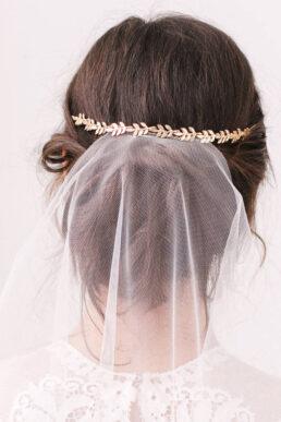 Britten Leaf Hair Wedding Vine Gold