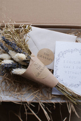 Natural Posy Maid Of Honour Letterbox Gift
