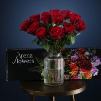 Letterbox Fairtrade Sweetheart Red Roses
