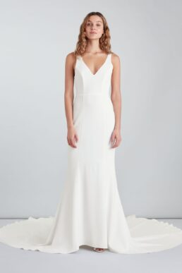 Whistles Billie Wedding Dress, Ivory