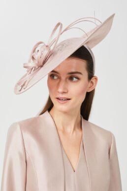 Hobbs Juliette Fascinator Pale Pink Blush