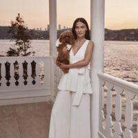 Rowley Hesselballe Aliaa Bridal Jumpsuit White