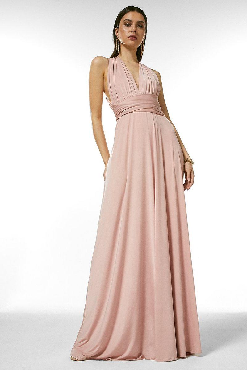 Karen Millen Multiway Slinky Jersey Maxi Dress