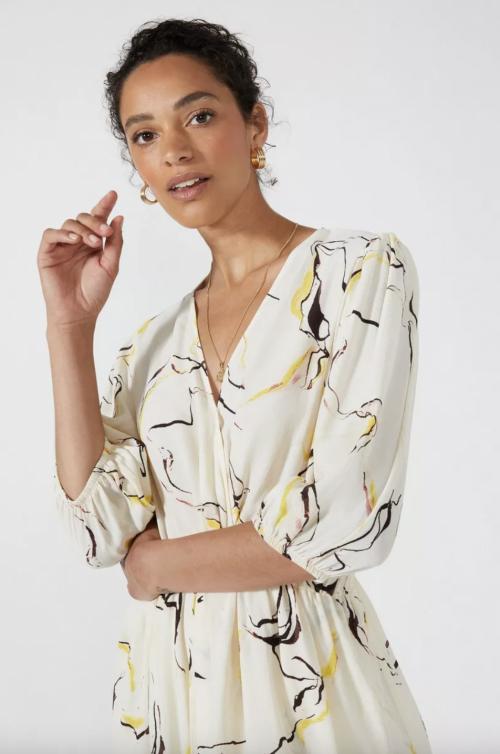 Principles Twist Front Artist Print Dress £33.75