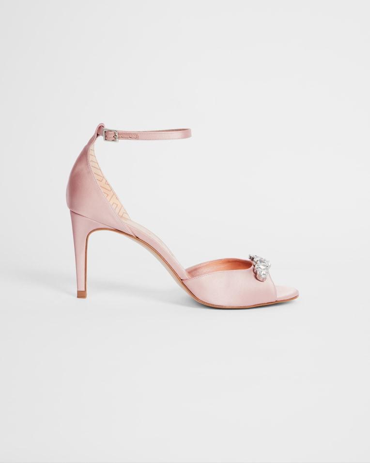 GLEAMY Embellished crystal sandal