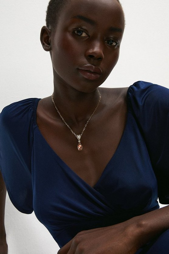 Two Tone Delicate Necklace