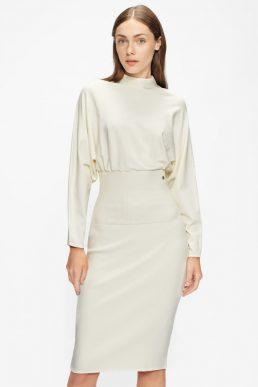Ted Baker ALICE Cocoon Midi Dress White
