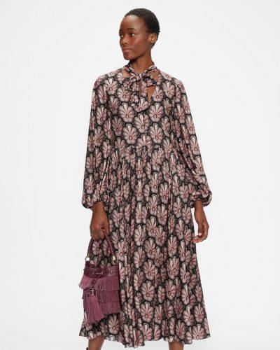 DHANA Relaxed printed maxi dress £325