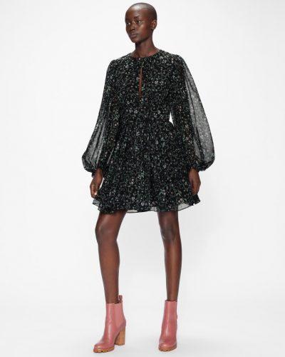 MAIRIE Full Skirted Mini Dress with Balloon Sleeve £165