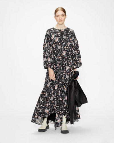 ANGELLO Oversized Midaxi Dress with Sash Tie £295