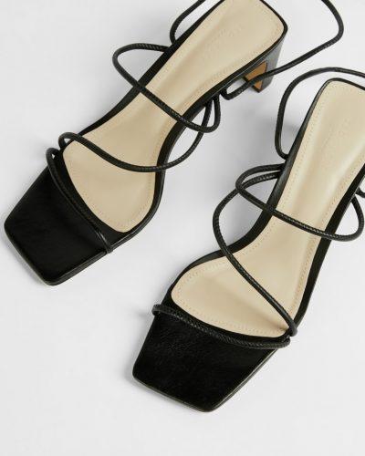 TEFFIP Spaghetti strap mid heeled sandal £110